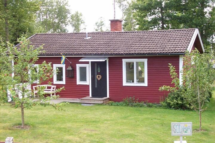 Das Sommerhaus Solhaga -Süd-Schweden