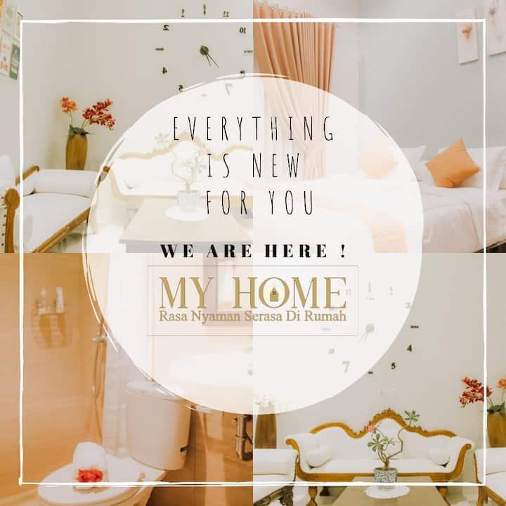 My Home hostel ~ rasa nyaman serasa di rumah