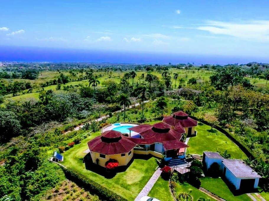 Vista aérea de Villa