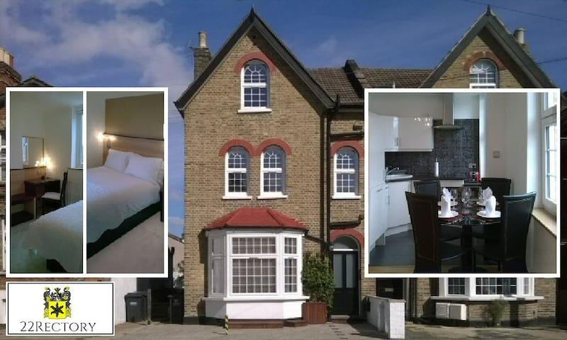 Elegant serviced apartments, central Croydon. Apt2 - Croydon - Lägenhet