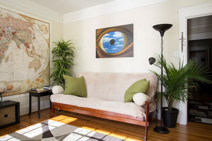 Sunny & Spacious 1 BR - Great Location! - San Francisco - Appartement