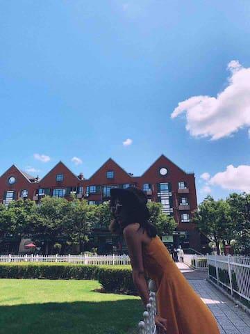 【新沪上仙踪独立整套】三间卧室/上海泰晤士小镇内/玛雅/欢乐谷/大学城/广富林/点击我头像查我更多房