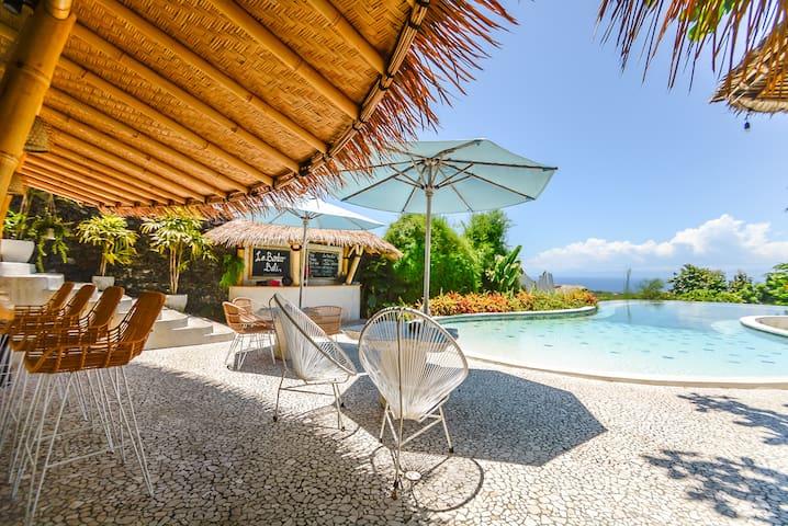 Unique Bamboo Eco Bungalow + Pool + Yoga