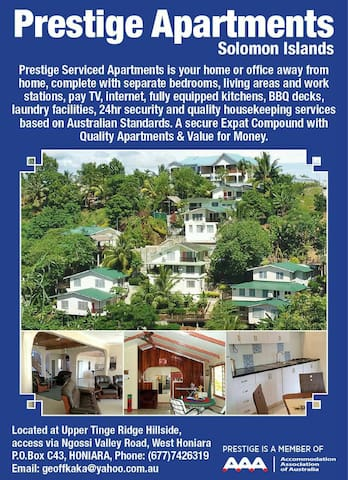 Prestige Apartments - Honiara - Pis
