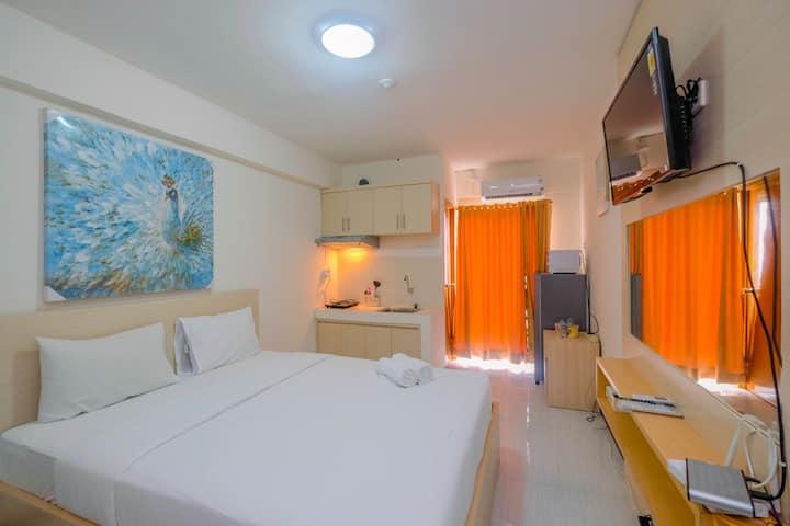 Cozy and Compact Cinere Resort Studio Apartment