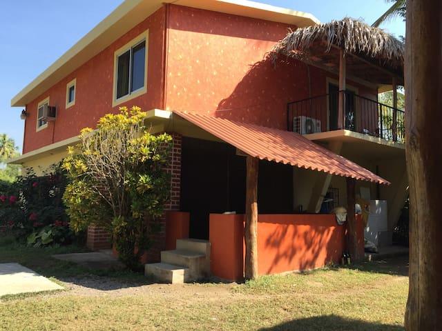Casa Boca  large 2 bed. 100 mts beach-