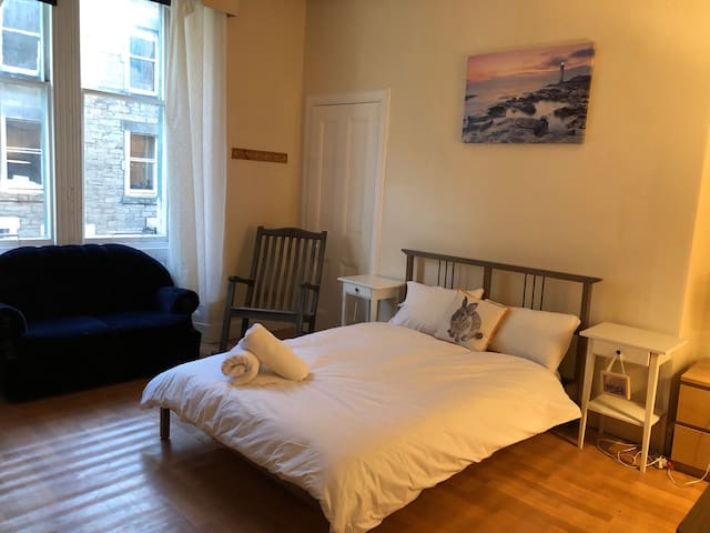 Specious Bedroom with a Double bed by the Old Town