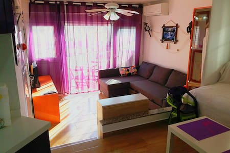 Loft 2 Mares [Acceso directo a playa parking free]