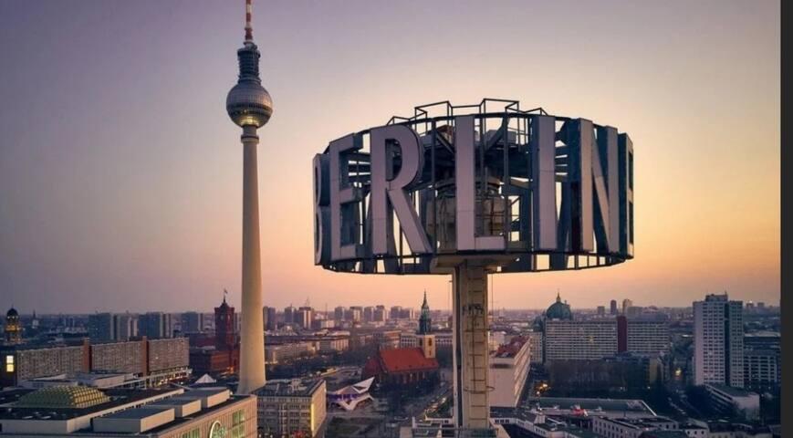 East Berlin City Center TV Tower Alexanderplatz