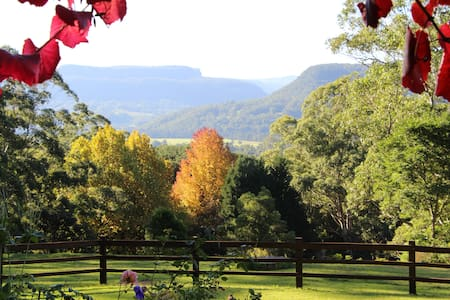 Amazing view King Room 3 mountains - Kangaroo Valley
