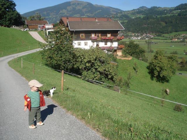Urlaub am Bergbauernhof mit wunderschöner Aussicht