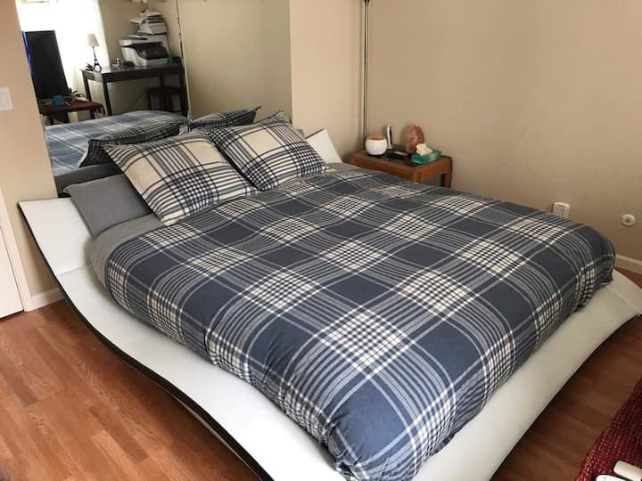 Comfy Bedroom in San Francisco ❤️