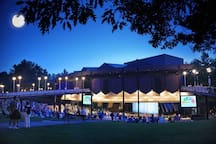 SPAC is an incredible venue for concerts, operas, orchestra, dance, cabaret ...