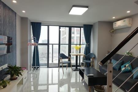 喵艺  复地·南都荟  阳光充裕的LOFT公寓