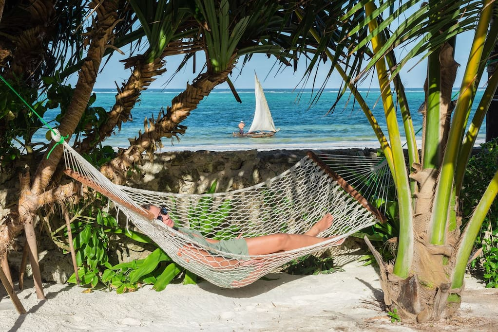 Chill out in hammock
