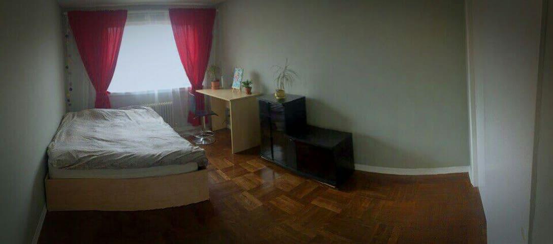 Cozy 1 master bedroom