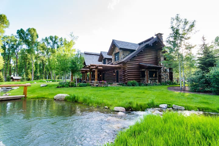 Teton Dreaming | Luxury Ranch Compound near Snake | Abode at Moonshine Reserve
