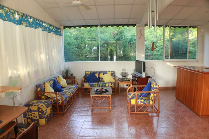 Private apartment with AC