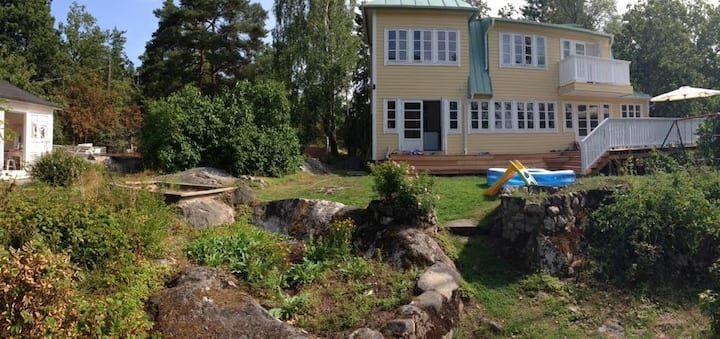 Whole house in archipelago, 20 min to Stockholm