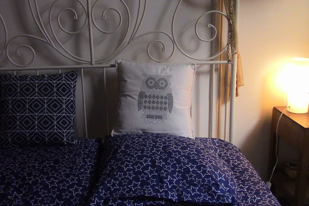Bedroom - Double bed + possibility of an additional mattress for a third person