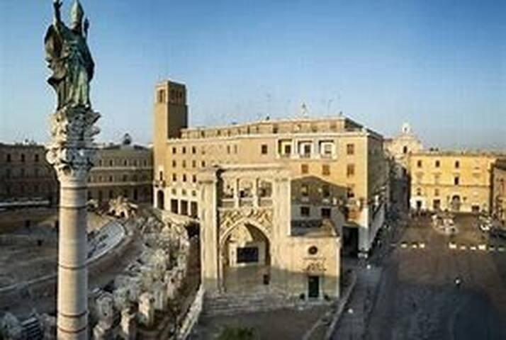 Vittoria in b&b con wc privato al centro di Lecce