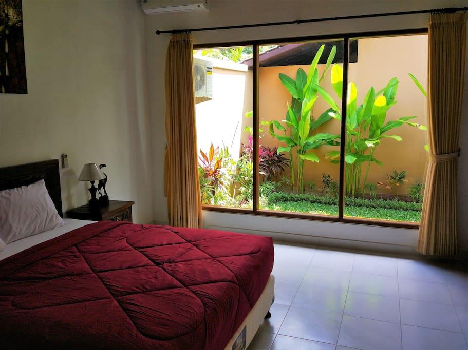 Bedroom View Garden