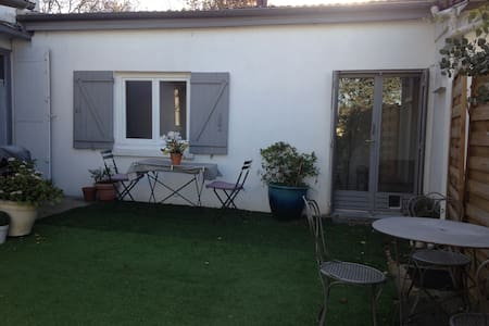 "5"" la DEFENSE  Studio20M2&garden !"