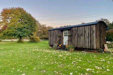 Buckhurst Shepherds Hut, luxury rural Kent retreat