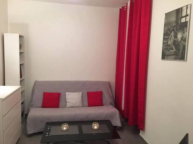 Studio moderne dans le 19ème - Paris - Apartmen