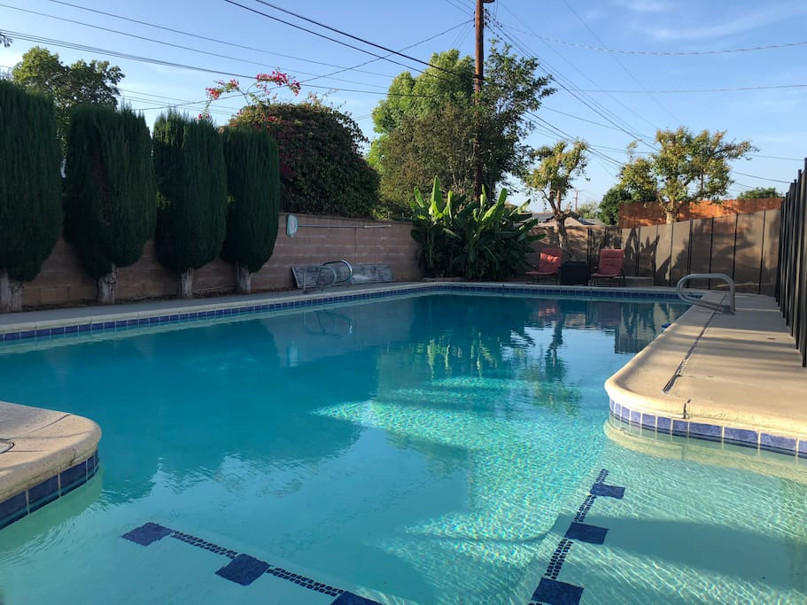 entire house 4b 3b big swimming pool houses for rent in west covina california united states