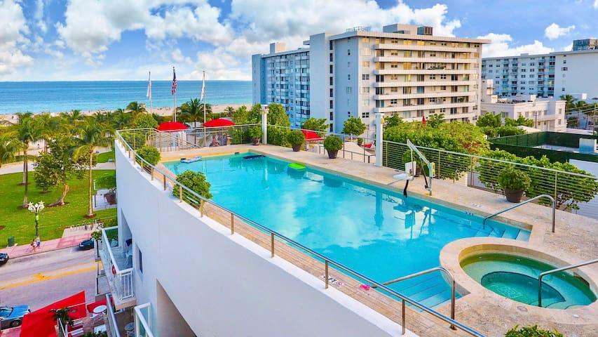 Luxury Suite Bentley Hotel Ocean Dr - Miami Beach - Leilighet