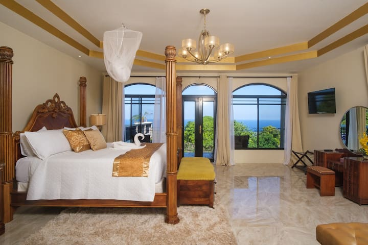 Our Mini Master suite with ocean view