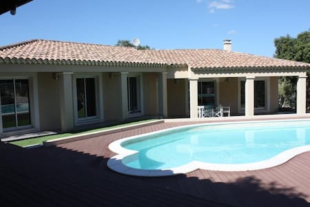 Villa with swimming-pool for 8 people - Collias - Hus