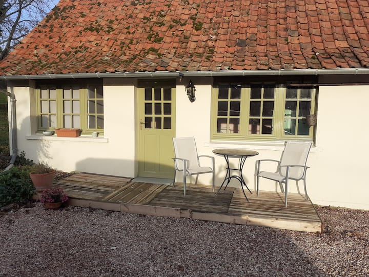 Private luxury studio with own terras