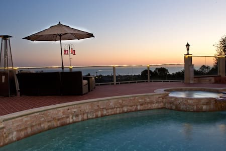 PRIVATE GRAND SUITE WITH PANORAMIC OCEAN VIEWS - San Juan Capistrano - Haus