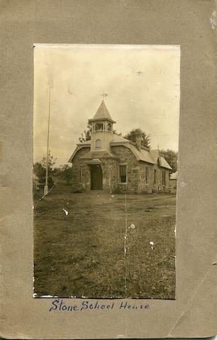 Historic 1800's restored Stone School House