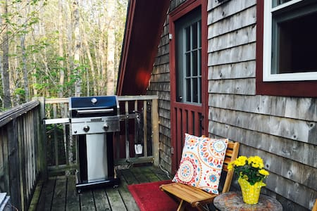 Bar Harbor Studio- Acadia Woods retreat