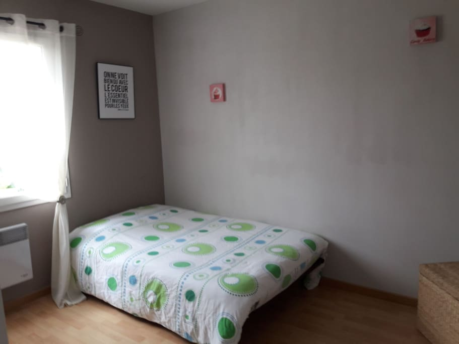 voici la chambre ou vous dormirez