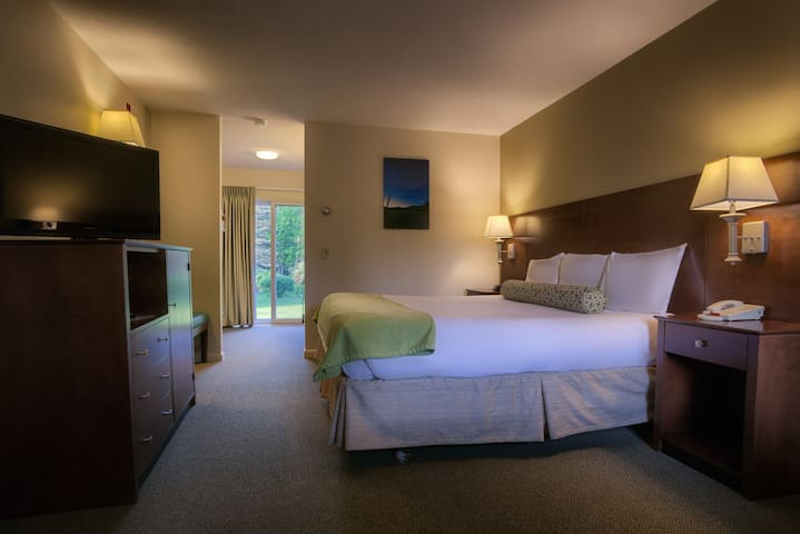 Stowe Escape Boutique Motel Room One King Bed