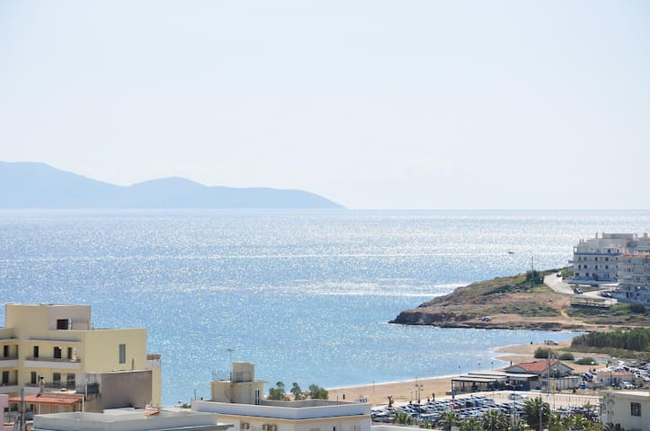 Roof maisonette with view to Aegean sea - Rafina - Pis