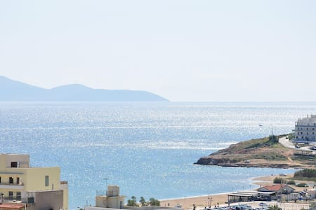 Roof maisonette with view to Aegean sea - Rafina