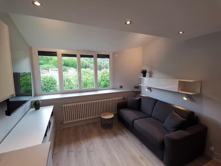 Studio moderne vue montagne à Uriage Les Bains