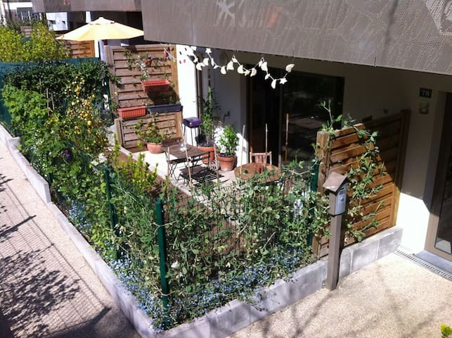 Entire flat with a little garden, Les Lilas - Les Lilas - Appartement