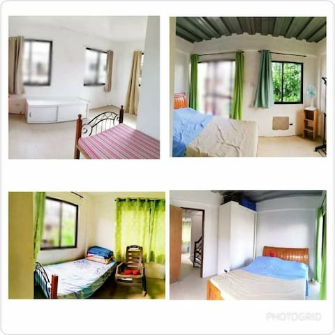 Breezy semi furnished staff house for your team!