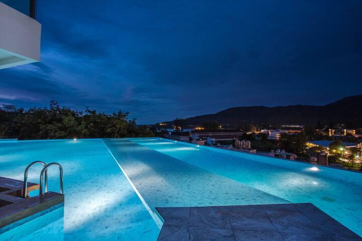 新装修的海景公寓 1卧室 300米就到卡马拉海滩