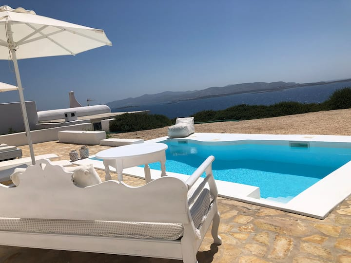 Thea Villas 2, Breathtaking Sea view, private pool