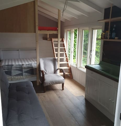 Tiny house with heaps of character.