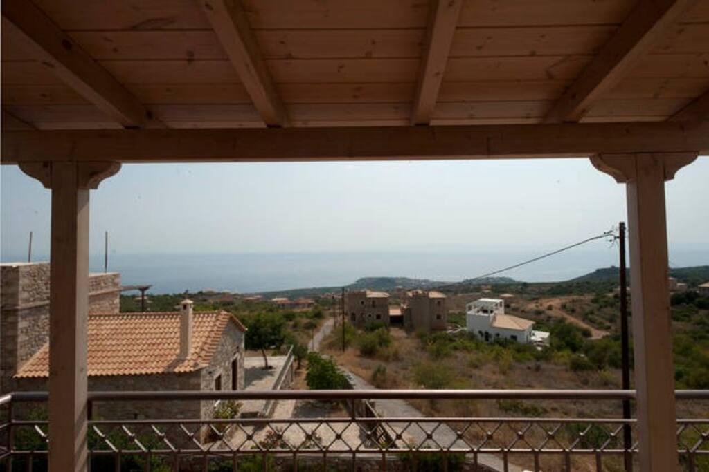 Double room's balcony