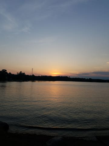 Sunset by the Lake!!