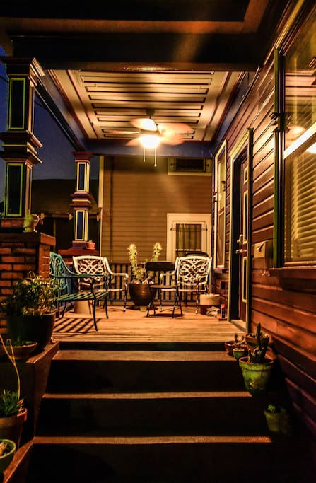 Our beloved front porch- welcome! Photo by chel.photography@instagram.com.